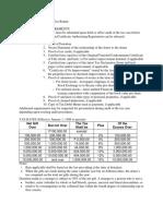 BIR Form 1800 Requirements
