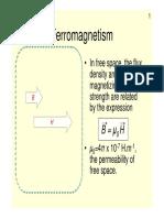 [電動機械L4c補充教材]UON Dr Jonathan Goss Ferromagnetism