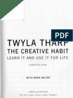 Twyla Tharp - The Creative Habit.pdf