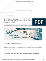 Top 80 SAP FICO Interview Questions and Answers PDF - SVR