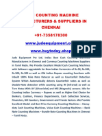 Cash Counting Machines Manufacturers and Suppliers in Chennai - Tamil Nadu