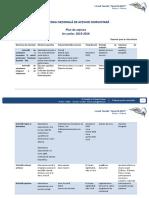 Plan de Acțiune Snac 2015-2016