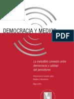 Democracia y Medios de Comunicación