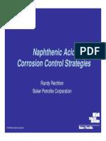 Corrosion Nafthenics Acids