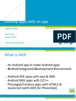 AIDE (Android Integrated Development Environment)