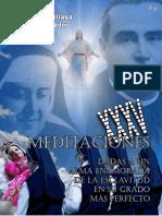 Meditaciones dadas a un alma enamorada de la Esclavitud
