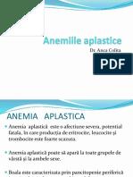 anemii aplastice
