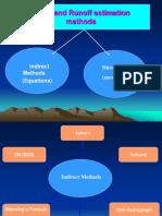Flood and Runoff Estimation Methods - Yemenwater