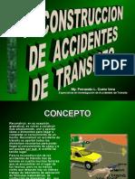 Reconstrucción de Accidentes de Transito
