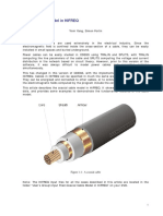 Coaxial Cable Model in HIFREQ