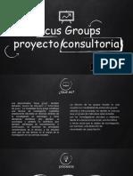 Focus Groups Proyecto Consultoria