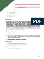 Plan Formativo y de Capacitacion