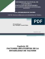 Capítulo III Factores