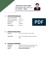 Curriculum Quispe Sanchez Juan Javier[1]