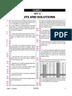 Nco Level2 Solution Class 3 Set 3