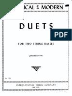 Zimmermann - Duets per due contrabbassi.pdf