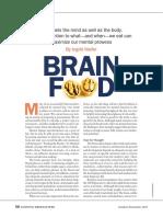 Alimento Del Cerebro