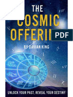 The Cosmic Offering