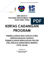 Kertas Kerja Program PBL 2018