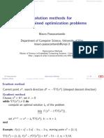 5-Methods Unconstrained Opt
