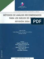 METODOS DE ANALISIS RECOMENDADOS PARA LOS SUELOS DE CHILE REV 2006.pdf