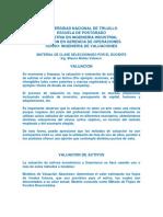 Unt - Operaciones - Valuaciones - Metodos 2013