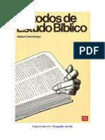 Walter Henrichsen - Métodos de Estudo Biblico.pdf