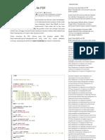 Export Data MySQL Ke PDF