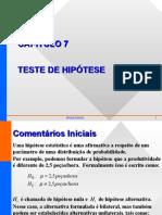 Teste Hipotese