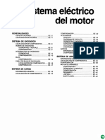 Sistema electrico de motor