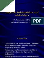 Antihistamínicos en el Adulto Mayor.ppt
