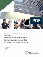 Camiones · Módulo Especial Parametrizable · Parametrizaciones Básicas · Run Documentación Para El Instructor