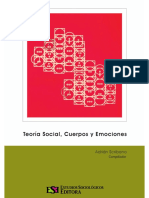 Cuerpos y emociones en la teoría social clásica George Simmel_Goofmman