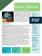 st saviours newsletter - 4 feb 2018