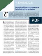 Envases Para La Industria Farmaceutica