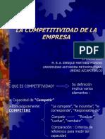 Porter La competitividad de la empresa.ppt