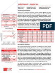 Equity Valuation Report - Apple