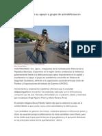 Empresarios Dan Su Apoyo a Grupo de Autodefensa en Guerrero. Ezequiel Florez, Revista Proceso, México, 2013