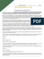 Orden 10-06-2016 Ordenación y evalución académica CSM