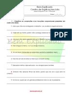 2.11  - Ficha de trabalho - Conjunções (1)