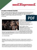 Un Anno Di Violenza Fascista - l'Espresso