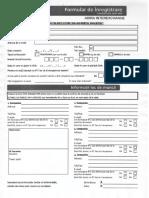 Tax Refund Form