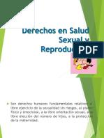 Derechos en Salud Sexual y Reproductiva