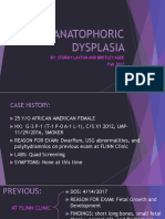 case presentation - thanatophoric dysplasia