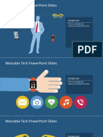FF0074 01 Free Wearable Tech Powerpoint Slides 16x9