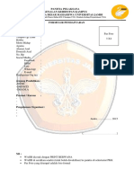 Formulir Pendaftaran Pkk Unja 2015