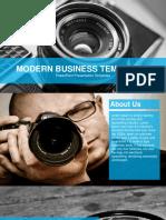 FF0067 01 Free Modern Powerpoint Template Design 16x9