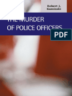 Frank P. Williams III the Murder of Police Officers Criminal Justice Lfb Scholarly Publishing Llc.
