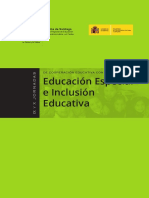 Ix y x Jornadas Educacion Especial Inclusion Educativa Chile 2015