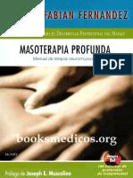 Fernandez Fabian - Masoterapia Profunda - Manual de Terapia Neuromuscular